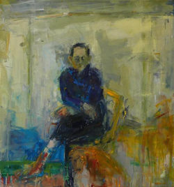 Henry Jabbour Seated Man